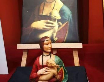 Ooak ''la dama con l'ermellino'' di Ooak di Tiziana- Tiziana Passanisi