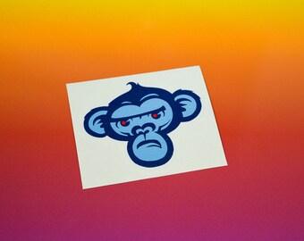 Monkey Vinyl Sticker