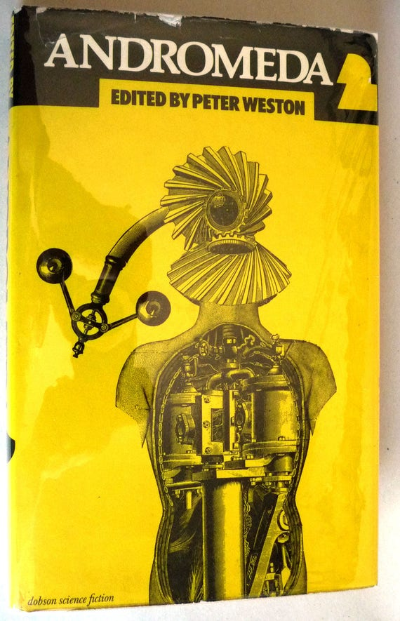 Andromeda 2: An Original SF Anthology 1977 Peter Weston 1st Edition Hardcover HC w/ Dust Jacket - Science Fiction