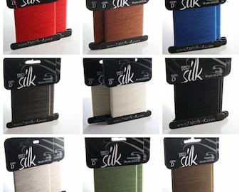 28 Yards (25.6 Meters) 100% Silk Thread-Size D