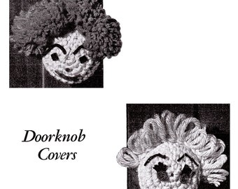 Crocheted Door Knob Covers Crocheting Pattern *PDF Instant Download*