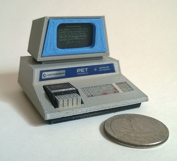Mini Commodore PET 2001 Chiclet keyboard 3D Printed