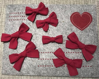 Hand Tied Ribbon Bows