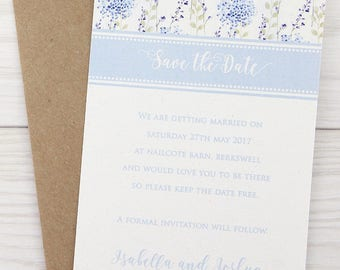 SAMPLE * Hattie Save the Date Cards