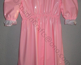 PVC Full length Sissy French/Nurse Maids Dress  Various colours