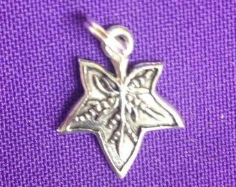 Ivy Leaf Charms - Alpha Kappa Alpha mascot charm, Alpha Phi Mascot Charm, Sorority Greek Mascot Charm