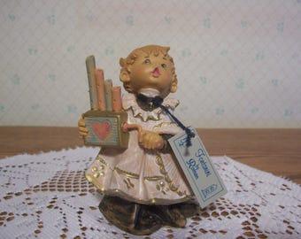 Fontanini Choir Boy Figurine by Roman 1987