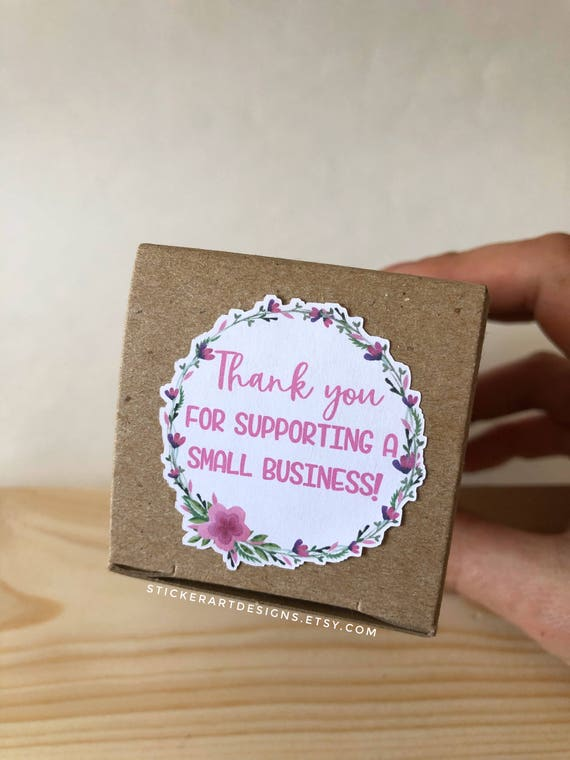 144 thank you for supporting a small business stickers packaging stickers mailing sticker floral stickers stickers business stickers