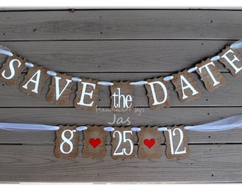 SAVE the DATE banner- Made to Order