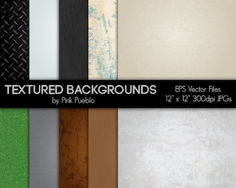 Digital Printable Papers Scrapbook Papers or Backgrounds - Textures - Commercial and Personal Use