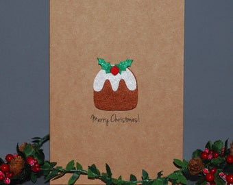 Figgy Pudding Christmas Card - Custom Christmas Cards - Merry Christmas - Holiday Cards - Country Christmas Cards - Holiday Greeting Cards