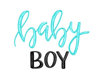 Baby Boy print
