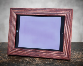 iPad Stand, Tablet Holder, Tablet Stand, iPad Holder, iPad Frame, iPad Picture Frame, iPad Wood Frame, iPad Photo Frame, iPad Display Frame