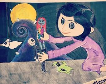 Coraline's Playtime