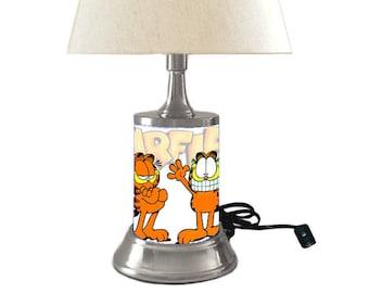 Garfield Lamp with shade