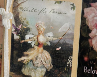 "Butterfly Dreams - Notebook by Charlotte Bird 8 x 6"""