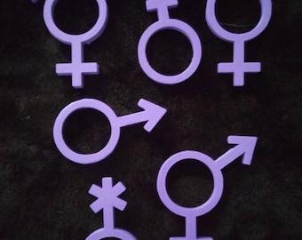 3D Printed Gender bulk pack!