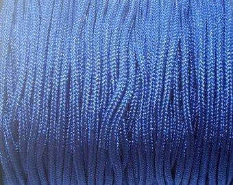 Paracord indigo blue 2mm nylon cord