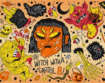 WITCH WITH A CAPITOL B
