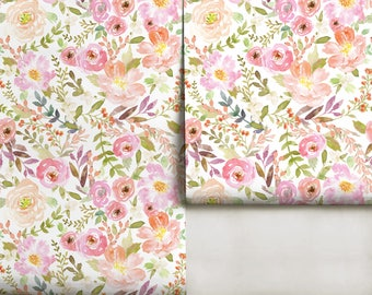 Charlotte Floral Mural • Easy to Apply Removable Peel 'n Stick Wallpaper in Custom Colors!