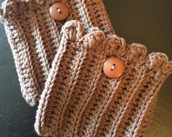 Ribbed Boot Cuffs