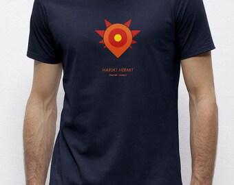 Haruki Hermit Navy | T-shirt | Eco-friendly