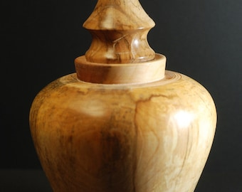 maple burial urn