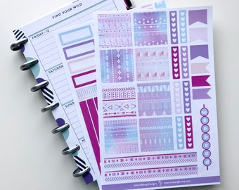 Majestic Tribal Mini Happy Planner Kit - Collection - Planner Stickers - Happy Planner
