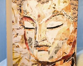 OM Buddha Journal ~ Inspirational diary, Affirmation Journal, Art Journal, Gratitude Journal
