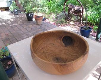 Eleanor's Oak Wooden Bowl