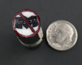 Anti-Monsanto Murrine Boro Cane 13 grams - 114 R