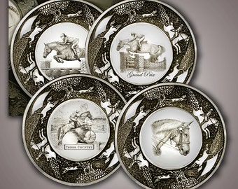 Horse coasters ... : horse themed dinnerware - pezcame.com
