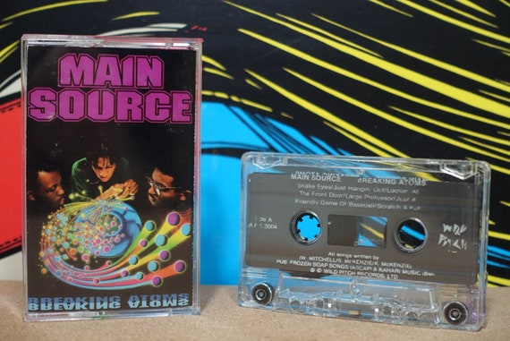Breaking Atoms by Main Source Vintage Cassette Tape