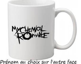 Mug My Chemical Romance with name choice