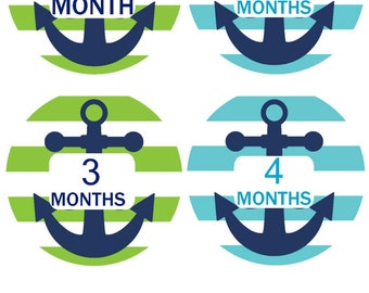 Baby Month Stickers Monthly Baby Stickers Milestone Stickers Baby Shower Gifts Monthly Milestone Stickers Monthly Bodysuit Stickers