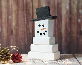 Wooden Snowman, Christmas Mantle Decorations, Rustic Christmas Decor, Christmas Decoration, Primitive Snowman, Primitive Christmas