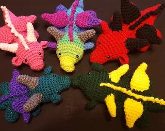 Baby Crocheted Dragon