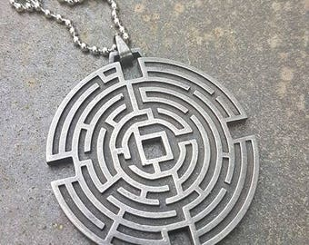 Prisoners - Maze pendant movie prop replica