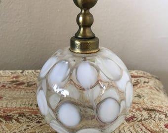 Antique Perfume Bottle / Glass Perfume Bottle / Fragrance Bottle / Collectible Perfume Bottle / Perfume Decanter