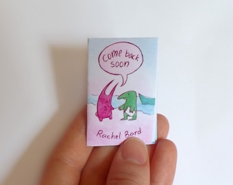 Come Back Soon Mini-Comic Zine