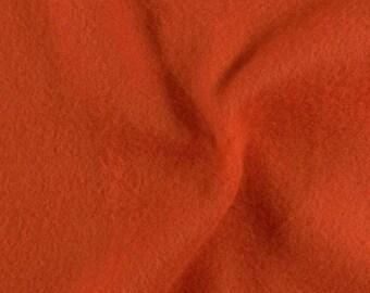 Sheet of felt ORANGE FONÇÉ format A4 (21 X 29, 7cm)