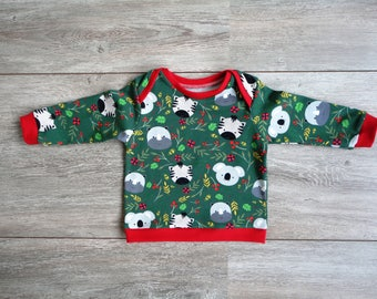 Merry babylongsleeve with jungle print