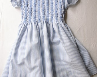Striped 4/5 years smocked dress