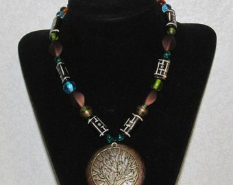 Nature inspired Tree Necklace/Choker (small)