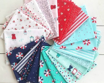 A Little Sweetness Fat Eighth/Fat Quarter - Complete Collection 24 Pieces - Tasha Noel - Riley Blake Designs