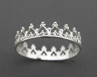 Silver Ring - You Are My Princess