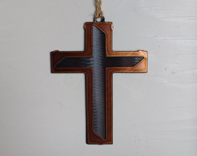 Modern Cross Ornament