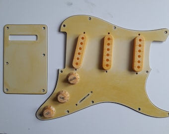 Fender Stratocaster '66' Aged-Relic/Road worn Pickguard/Back plate/Pickup covers