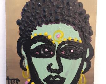 Green Buddha by Tess Israelson