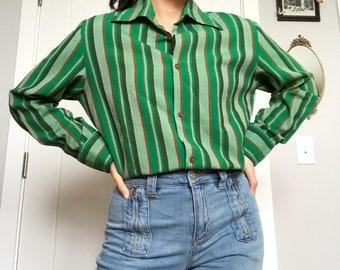60s Mod Striped Shirt